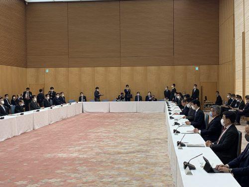 3/5(金)第57回新型コロナウイルス感染症対策会議に出席