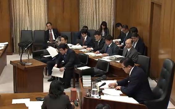 11/20(水)内閣委員会に出席。