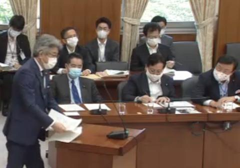 5/29(金)内閣委員会、国土交通委員会に出席。