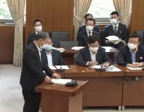 6/3(水)内閣委員会、国土交通委員会に出席。