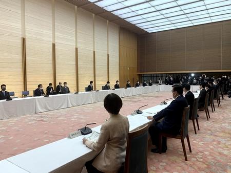 4/16(金)新型コロナ対策会議に出席、第6回WILキックオフセッション