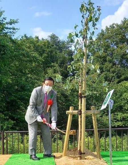 5/29(土)愛知県植樹祭に出席。