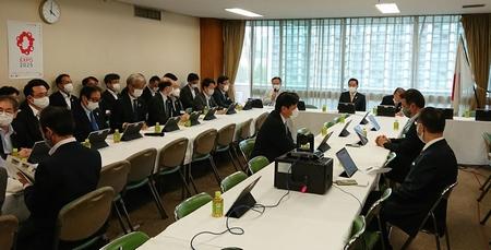 6/16 (金)大阪・関西万博推進本部に出席。
