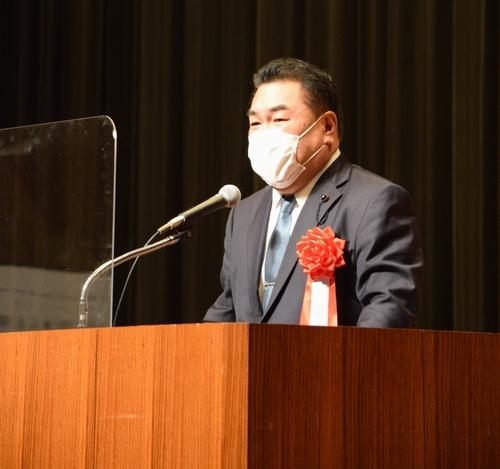 10/22(金)選挙戦4日目。夜は稲沢市で演説会。