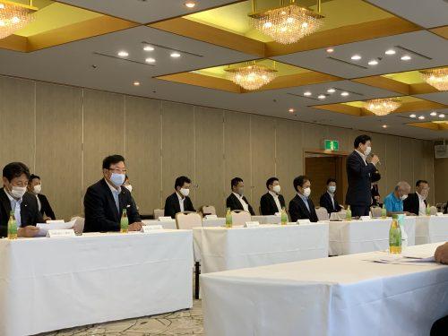 9/7(月)自民党愛知県連政策懇談会に出席