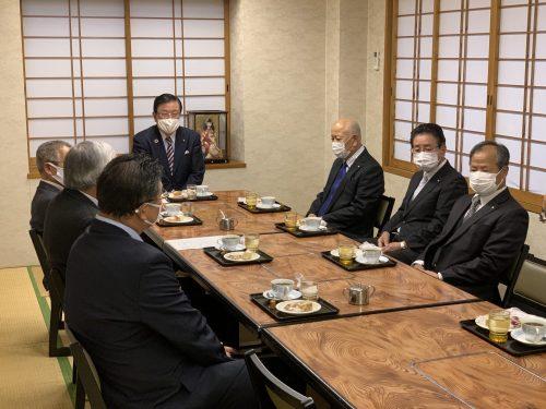 12/24(木)海部地区の商工会長と意見交換会