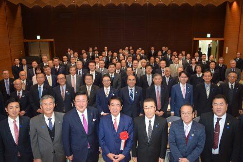 1/25(土)自民党愛知県第九区支部新年公職者会議・憲法改正研修会を開催
