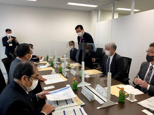 11/16(月)副大臣として愛知県内を視察