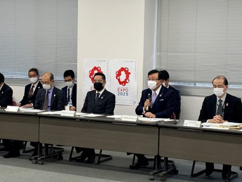 3/1(月)大阪・関西万博係府省庁連絡会議に出席