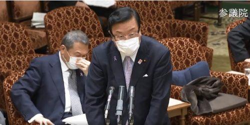 11/17(火)参議院内閣委員会に出席