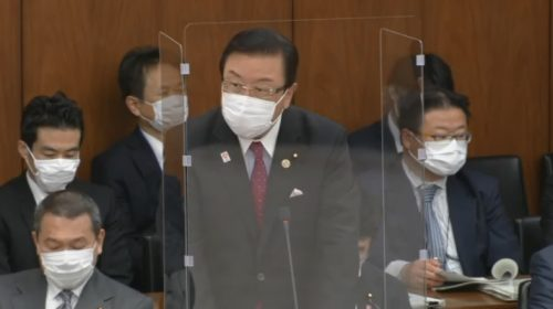 3/18(木)衆議院災害対策特別委員会・本会議に出席