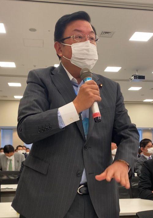 5/7(木)自民党コロナ対策合同会議に出席